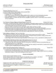 Chronological Sample Resume by Sample Resume Graduate Assistantship Essay Templates