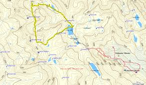 Glacier Park Map Kokanee Glacier Kitchener Stp Couloir Sharon And Lee Just