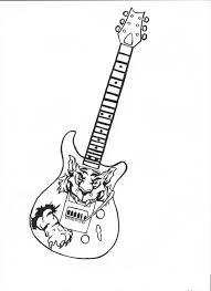 photo collection guitar tattoo sketch by