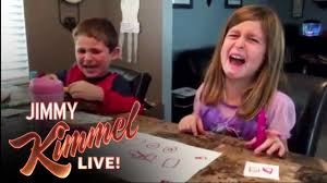 jimmy kimmel shares his annual u0027i told my kids i ate all their