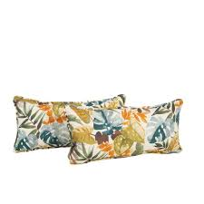 Home Decorators Hampton Bay by Hampton Bay Tropical Outdoor Cushions Patio Furniture The