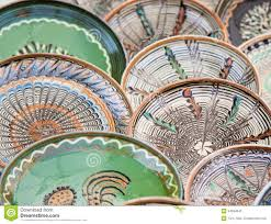 ornamental plates stock photo image 54594043