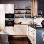 Design Of Small Kitchen Kitchen Clear Design Of Small Kitchen Ideas In Brown Color Theme