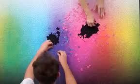color spectrum puzzle 5k piece puzzle has every color on the cmyk spectrum