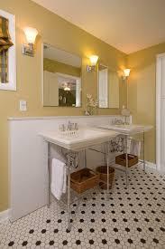 pedestal sink bathroom design ideas awesome pedestal sink with backsplash designs to peek at decohoms