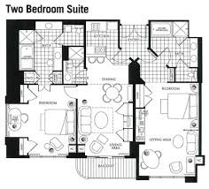 2 Bedroom Condo Floor Plan 2 Bedroom Floorplan Mgm Grand Signature Suites