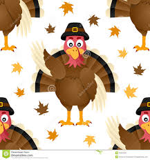 cute thanksgiving photos thanksgiving seamless background with funny turkey stock vector