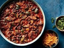 chili cuisine cinnamon laced chili recipe cooking light