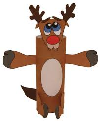 Kids Reindeer Crafts - tp roll craft