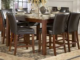 counter height dining table extendable expandable round for 8 oak