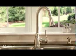 moen boutique kitchen faucet anabelle pulldown kitchen faucet with reflex moen features