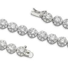 sterling tennis bracelet images 6 50 carats tennis bracelet sterling silver jpg