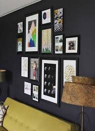 Wall Decors Decorating Ideas Lovely Image Of Rectangular Vertical Black Wood