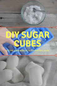 Where To Find Sugar Cubes Diy Sugar Cubes For Cocktails Or Anything Else Really Ramshackle