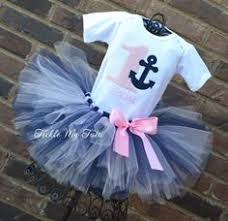 Nautical Themed Ribbon - navy and pink preppy nautical themed ribbon wreath party