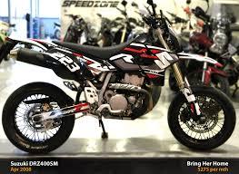 suzuki motorcycle black suzuki drz400sm black 2007 used suzuki drz400sm black price