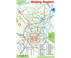 Detailed Map Of China by Maps Of Beijing Detailed Map Of Beijing In English And Chinese