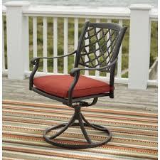 Wrought Iron Swivel Patio Chairs Swivel Patio Dining Chairs You U0027ll Love Wayfair