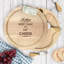 engraved cheese board engraved cheese boards sets personalised gifts shop