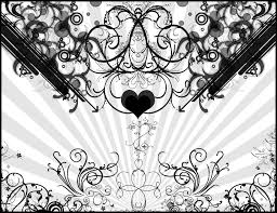 100 Best Gray U0026 White by Black And White Heart Android Wallpapers Black And White Heart