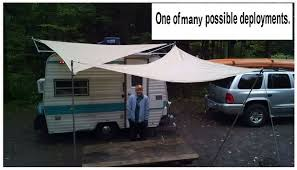 Rv Awning Sunscreen Sun Shade For Travel Trailer Or Rv 70 8 Steps With Pictures