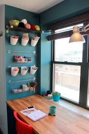craftaholics anonymous creating in new york city craft nook tour storage wall jpg