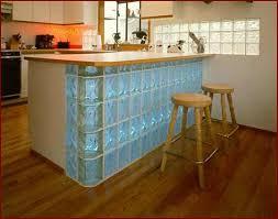 brique de verre cuisine toute la clarté du mur de verre plaisir du home