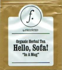 hello sofa tea bag organic herbal tea hello sofa in a mug glossy