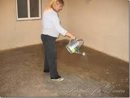unfinished basement floor ideas and parents of a dozen painting an