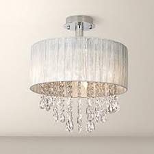 crystal semi flush mount lighting crystal semi flush mount close to ceiling lights ls plus