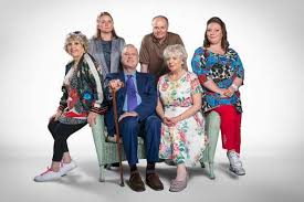the social cast hold the sunset who s in john cleese and alison steadman s new