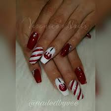 185 best nailedbyvee images on pinterest christmas nails nail