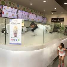 liquid nitrogen ice cream making picture of creamistry long
