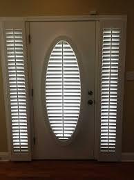 front door sidelight window covering solution trendy blinds front