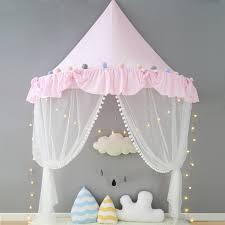 tente de chambre tente pour enfants lit à baldaquin rideaux coton jouer tente