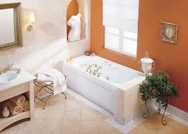 bathroom regular soaking tub by maax bathtubs with silver faucet