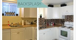 Tile Backsplash Diy - Vinyl tile backsplash