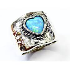 opal rings jewelry images Israel jewelry sterling silver 925 ring blue opal bluenoemi jewelry jpg