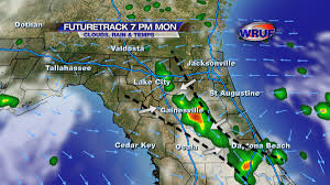 North Florida Map by Strong Storms Possible In North Florida This Evening Wruf Weather