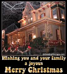 wishing you and your family a joyous merry glitter