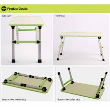 Adjustable Laptop Desks by Prado Foldable Laptop Table Adjustable Portable Notebook Bed Desk