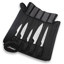 sabatier kitchen knives sabatier knife bag with 5 kitchen knives fuso nitro