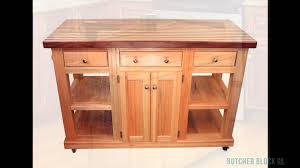 Turquoise Kitchen Island by Kitchen Islands And Butcher Block Tables Butcher Block Co Youtube