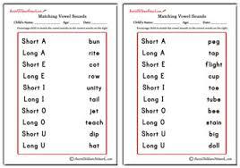 matching vowel sounds aussie childcare network