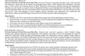 Grocery Store Manager Resume Example by Grocery Stocker Resume Example Reentrycorps