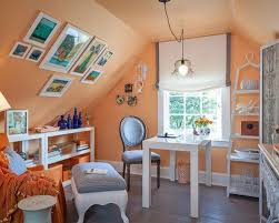 image result for how to decorate sloped walls in cape cod home