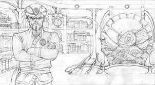 captain nemo sketch by cromou on deviantart