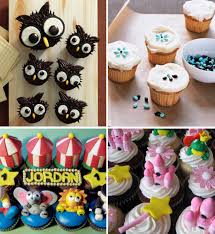 kids decorating cupcakes interior design