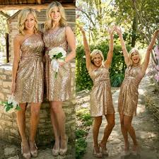 gold bridesmaid dresses 2016 pink gold bridesmaid dresses honor of formal