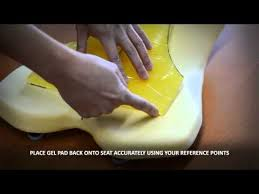 Diy Motorcycle Seat Upholstery Diy Custom Motorcycle Seat U0026 Gel Installation Youtube